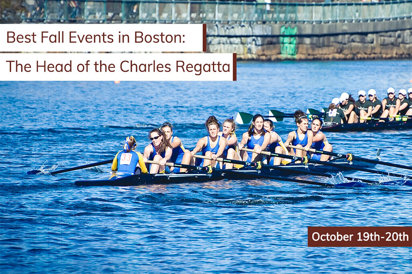 Best Fall Events in Boston: The Head of the Charles Regatta