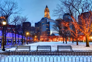 Boston Holiday Tree Lighting Ceremonies & Winter Getaways