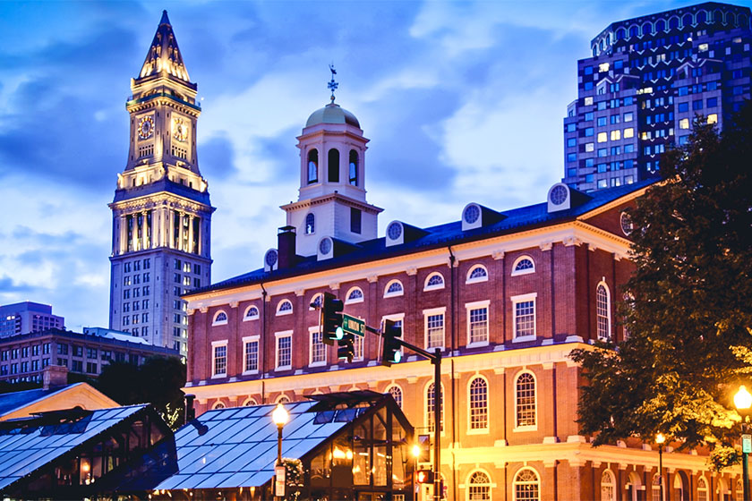 Quintessential Boston Attractions: Faneuil Hall Marketplace