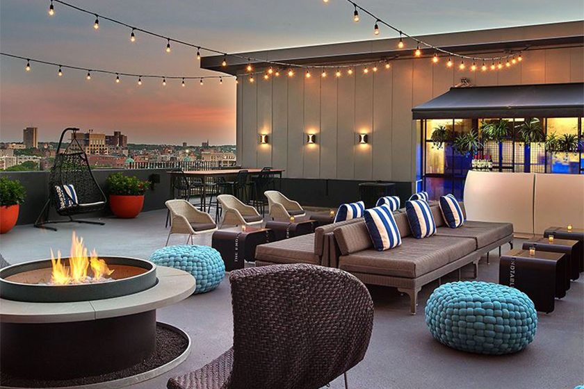 Rooftop Private Deck in Boston